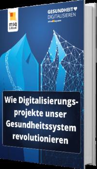 E-Book Cover Digitalisierung der Gesundheitsbranche