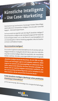 Unser Whitepaper zum Thema Künstliche Intelligenz