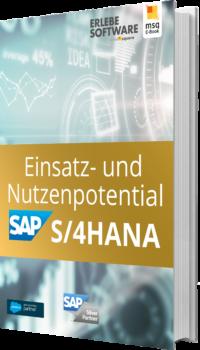 Unser E-Book zum Einsatz- und Nutzenpotential von SAP S/4HANA