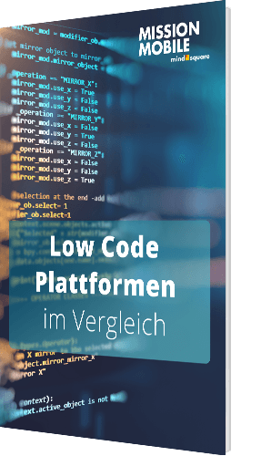 Unser Whitepaper zu den Low Code Plattformen im Vergleich