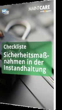 Checkliste: Sicherheitsmaßnahmen in der Instandhaltung