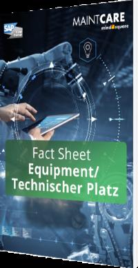 Unser Fact Sheet zum Equipment/Technischen Platz