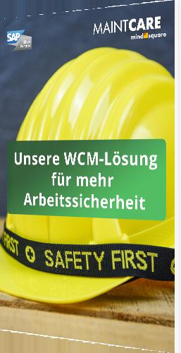 """Unser Whitepaper zum Thema """"Unsere WCM-Lösung für mehr Arbeitssicherheit"""""""