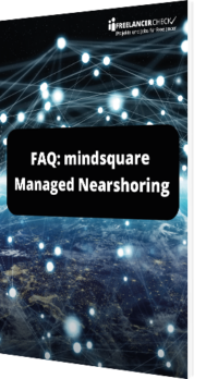 Unser Whitepaper mit den FAQs zu mindsquare Managed Nearshoring