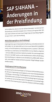 Unser Whitepaper zu SAP S/4HANA - Änderungen in der Preisfindung