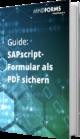 Unser E-Book zu SAPscript-Formular als PDF sichern