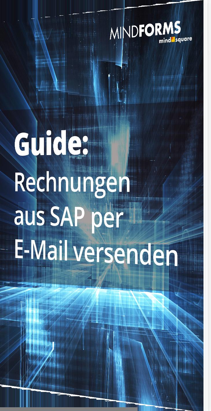 Rechnungen aus SAP per E-Mail versenden