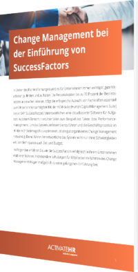 Change Management SuccessFactors