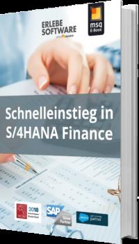 Unser E-Book zum Thema Schnelleinstieg in S/4HANA Finance