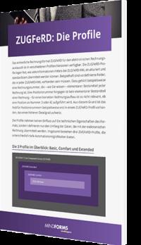 Unser Whitepaper zum Thema ZUGFeRD Die Profile
