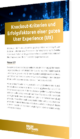 Unser Whitepaper zum Thema Knockout-Kriterien und Erfolgsfaktoren einer guten User Experience