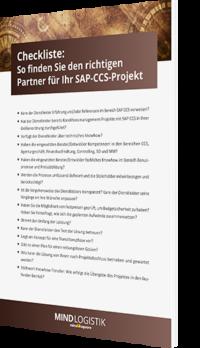 Unsere Checkliste zum Thema So finden Sie den richtigen Partner für Ihr SAP CCS-Projekt