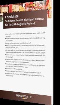 Unsere Checkliste zum Thema So finden Sie den richtigen Partner für Ihr SAP Logistik-Projekt