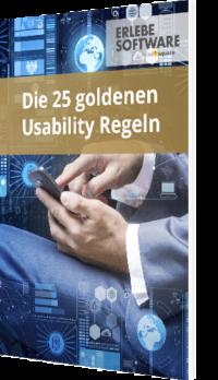 Die 25 goldenen Usability Regeln