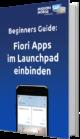Fiori apps im Launchpad einbinden