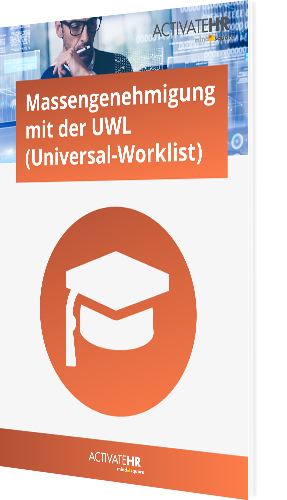 Massengenehmigung mit der UWL (Universal-Worklist)