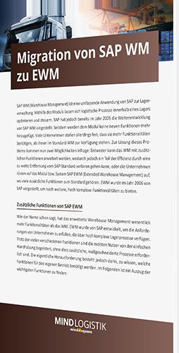 Migration von SAP WM zu EWM