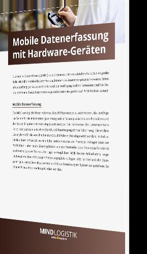 Mobile Datenerfassung mit Hardware-Geräten