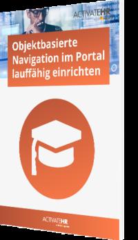 Objektbasierte Navigation im Portal lauffähig einrichten