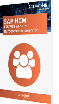SAP HCM ESS MSS Add-On Rufbereitschaftsservice