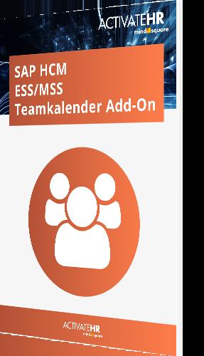 SAP HCM ESS MSS Teamkalender Add-On