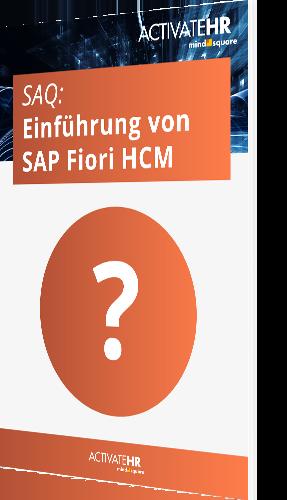 SAQ Einführung von SAP Fiori HCM