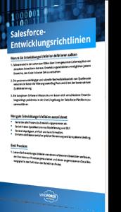 Whitepaper Salesforce Entwicklungsrichtlinien
