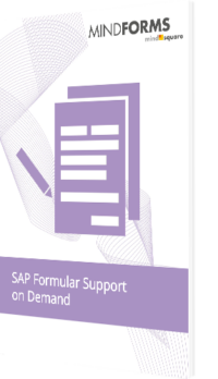 SAP Formular Support on Demand