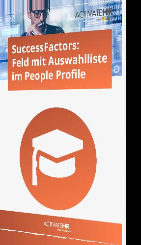SuccessFactors_ Feld mit Auswahlliste im People Profile