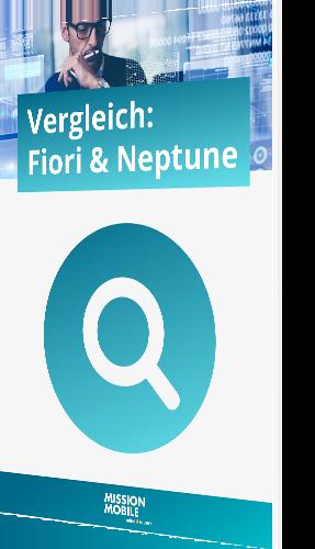 Der Vergleich zwischen Fiori und Neptune