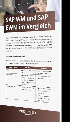 Whitepaper: SAP WM und SAP EWM im Vergleich | Mindlogistik