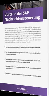 Unser Whitepaper zu den Vorteilen der SAP Nachrichtensteuerung