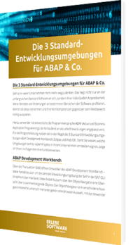 Entwicklungsumgebungen ABAP & Co