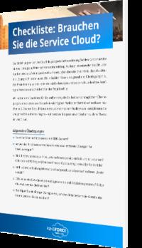 Unsere Checkliste zur Service Cloud