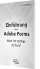 Unser Guide zum Thema: Einführung von Adobe Forms Was ist vorher zu tun?
