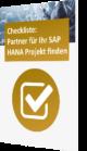 Checkliste Partner für SAP HANA Projekte