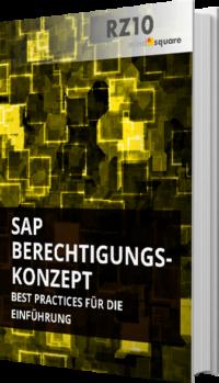 Unser E-Book zum SAP Berechtigungskonzept