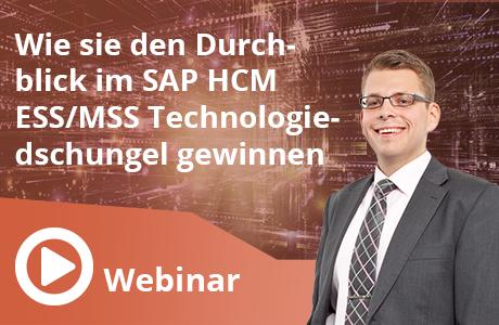 SAP ESS/MSS Technologiedschungel
