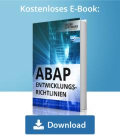 E-Book ABAP Entwicklungsrichtlinien