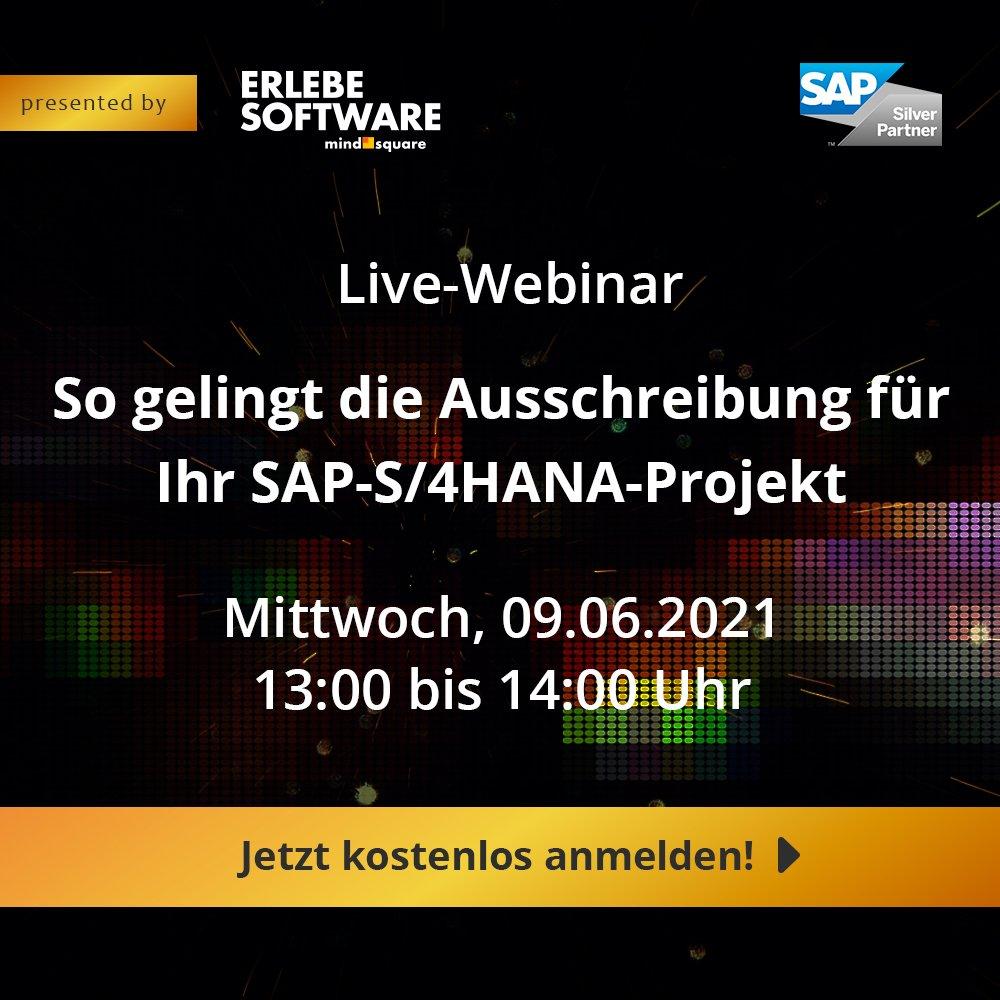 So gelingt die Ausschreibung für Ihr SAP-S/4HANA-Projekt