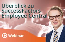 Unser Webinar zum Überblick über SuccessFactors Employee Central