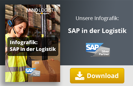 Unsere Infografik zu SAP in der Logistik