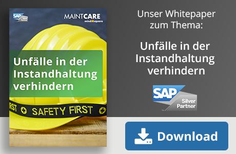 Unser Whitepaper zum Thema: Unfälle in der Instandhaltung verhindern