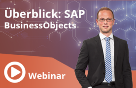 Überblick: SAP BusinessObjects
