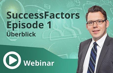 Unser Webinar zum Thema SuccessFactors Episode 1