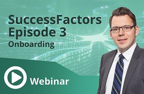 Unser Webinar zum Thema SuccessFactors Episode 3