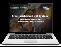 Webinar: Arbeitssicherheit mit System - Wie Sie Unfälle bei der Anlagenwartung verhindern