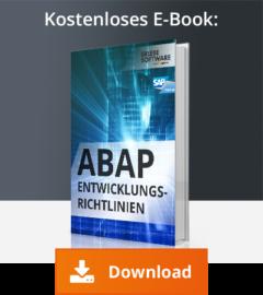 ABAP Entwicklungsrichtlinien