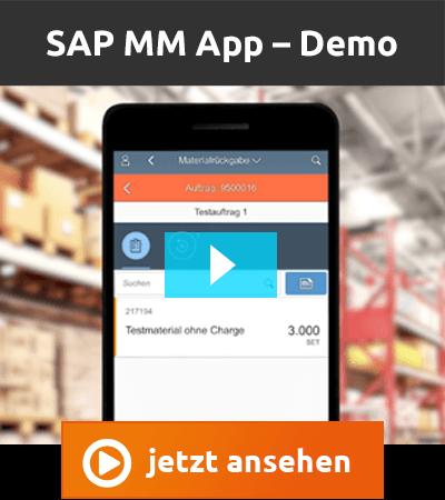 Videodemo mindlogistik SAP MM App