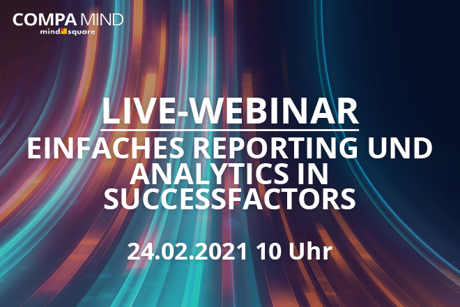 Live-Webinar: Einfaches Reporting und Analytics in SuccessFactors